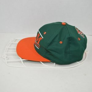 The Game Accessories - Vintage 90s THE GAME Miami Hurricanes Snapback Hat 596adafe71b1
